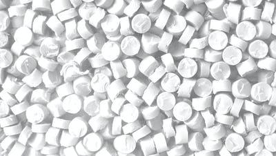 White Plastic Pellets