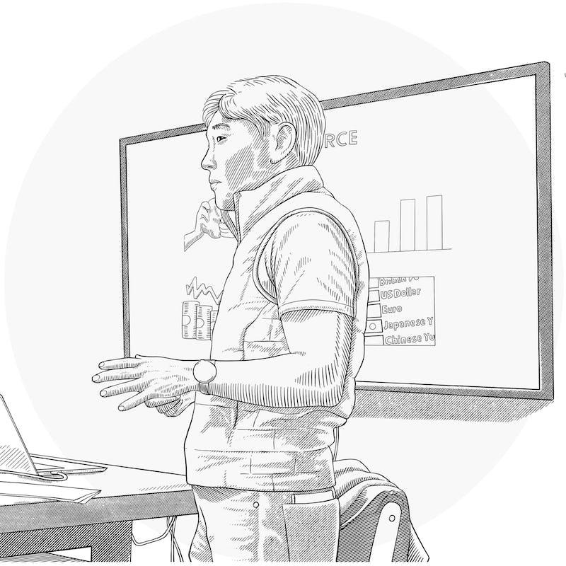 tetsuya giving a presentation