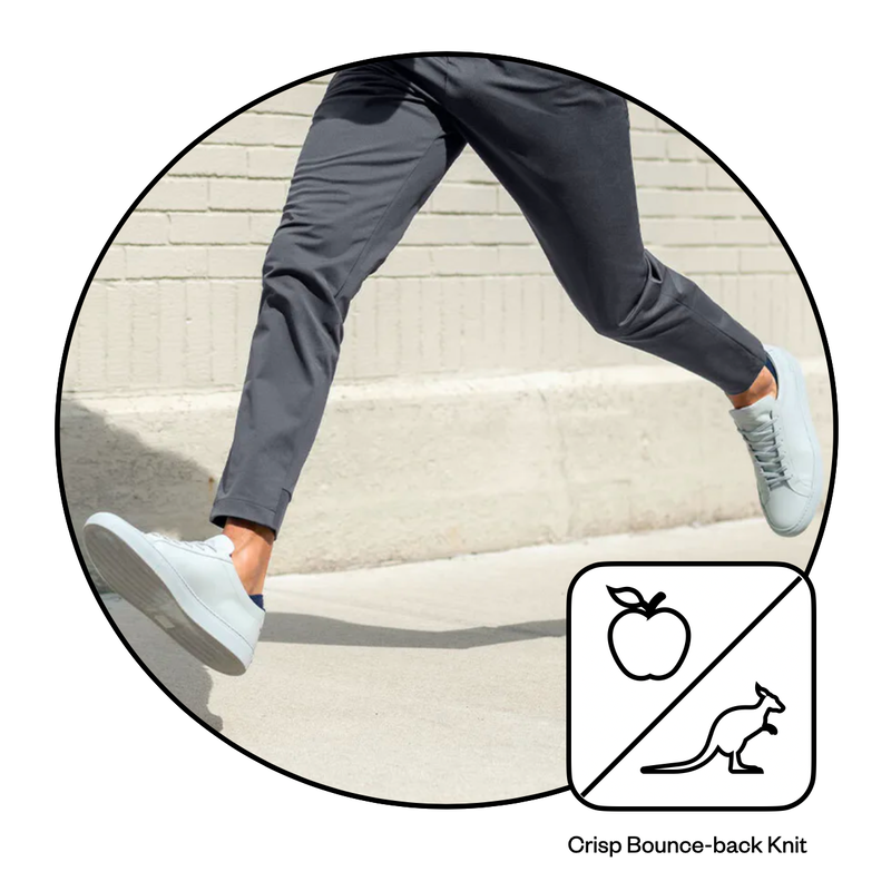 Crisp bounce-back knits