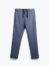 men's faded indigo pace tapered chino flat shot of front
