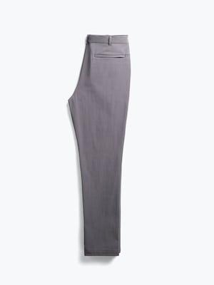 men's medium grey pace tapered chino flat shot of back folded