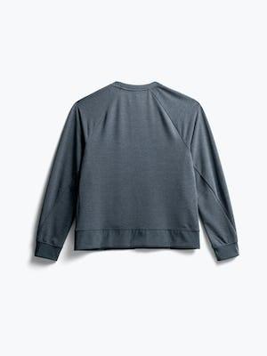 Back of Women's Dark Charcoal Fusion Terry Sweatshirt