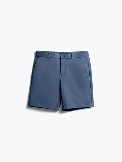 Mens Slate Blue Kinetic Shorts - Front View