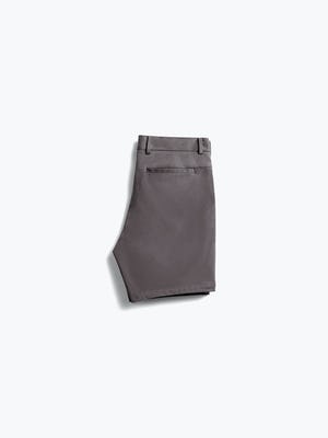 Back of Men's Charcoal Heather Kinetic Shorts