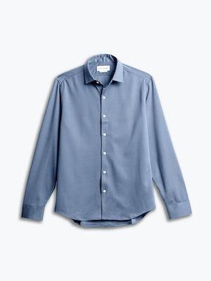 men's slate blue apollo dress shirt front