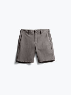 Men's Charcoal Heather Kinetic Shorts flat shot of front