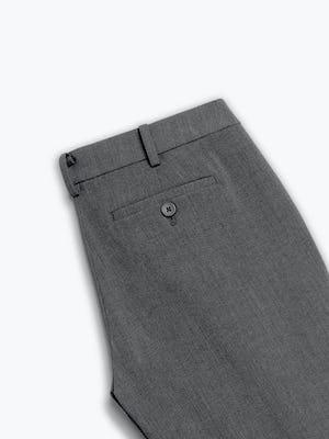 women's soft granite velocity pant zoomed shot of back folded