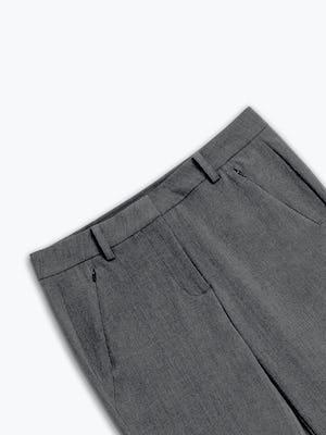 women's soft granite velocity pant zoomed shot of front