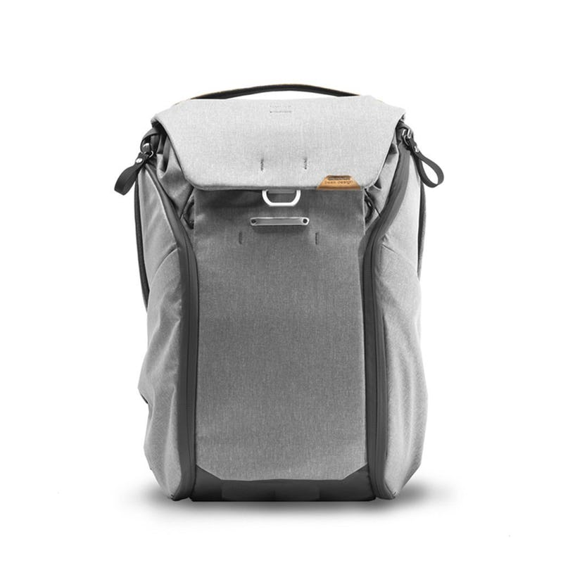 image of a charcoal grey backpack