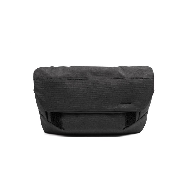 Image of a small black pouch