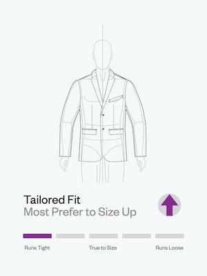 Men's Velocity Jacket Fit Tip - Runs Tight - Size Up