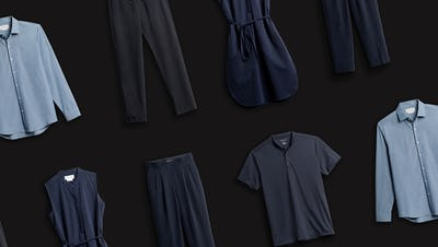 Grid of Clothes
