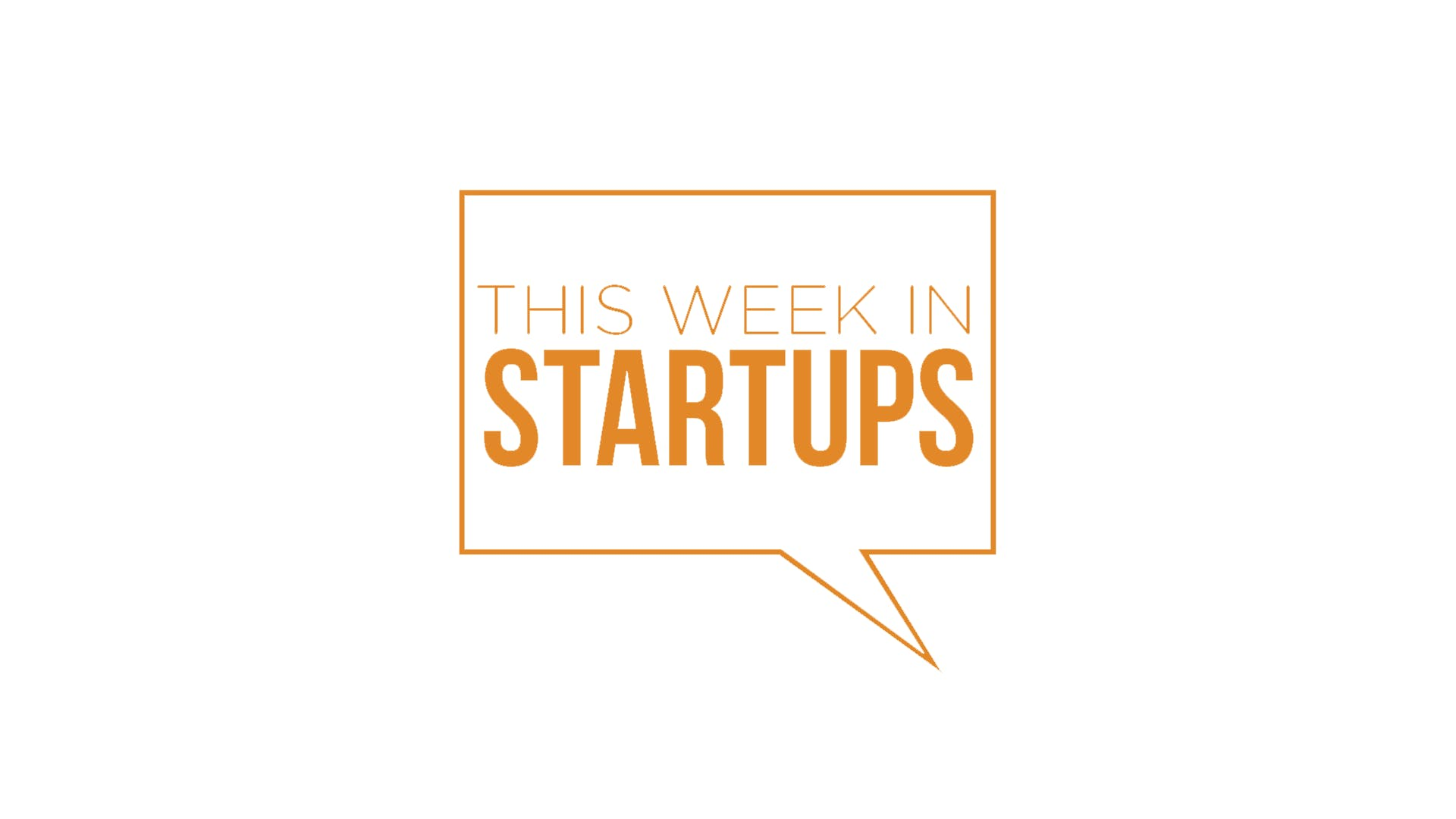 The logo for the podcast This Week in Startups
