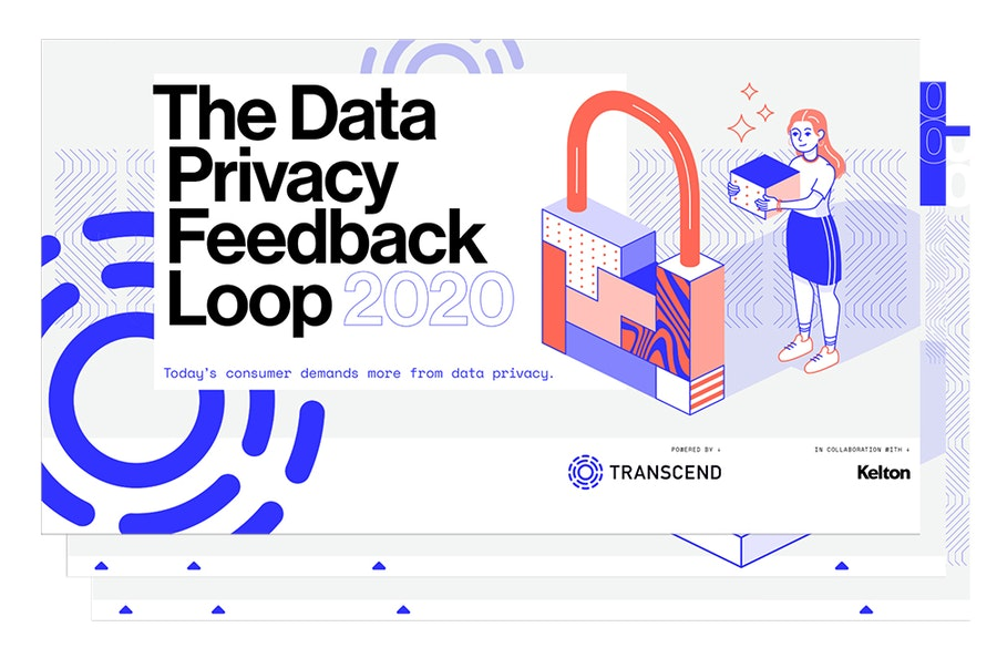 An image of the cover and subsequent pages of Transcend's Data Privacy Feedback Loop.