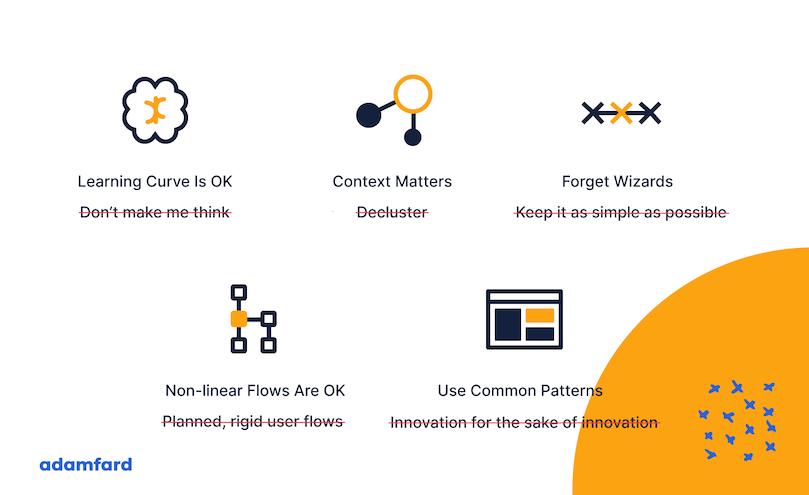 Summary of enterprise UX design best practices