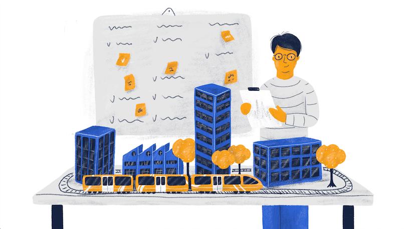 Enterprise UX illustration
