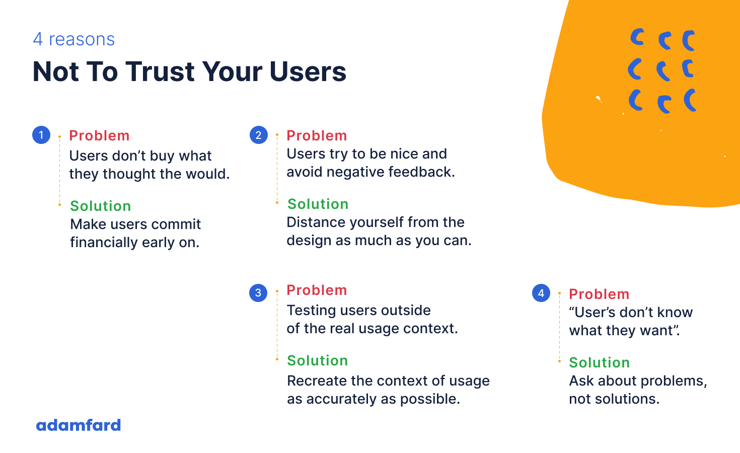 Don't Trust Your Users: Here are the Four Reasons