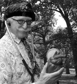 Patch Adams portrait