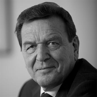 Gerhard Schröder - Former Federal Chancellor of Germany
