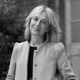 Sahar Hashemi - former lawyer and co-founder of Coffee Republic