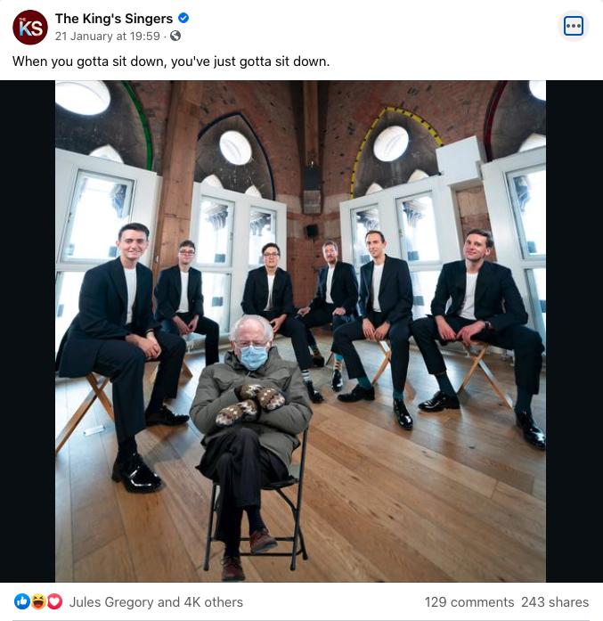 The King's Singers - Bernie