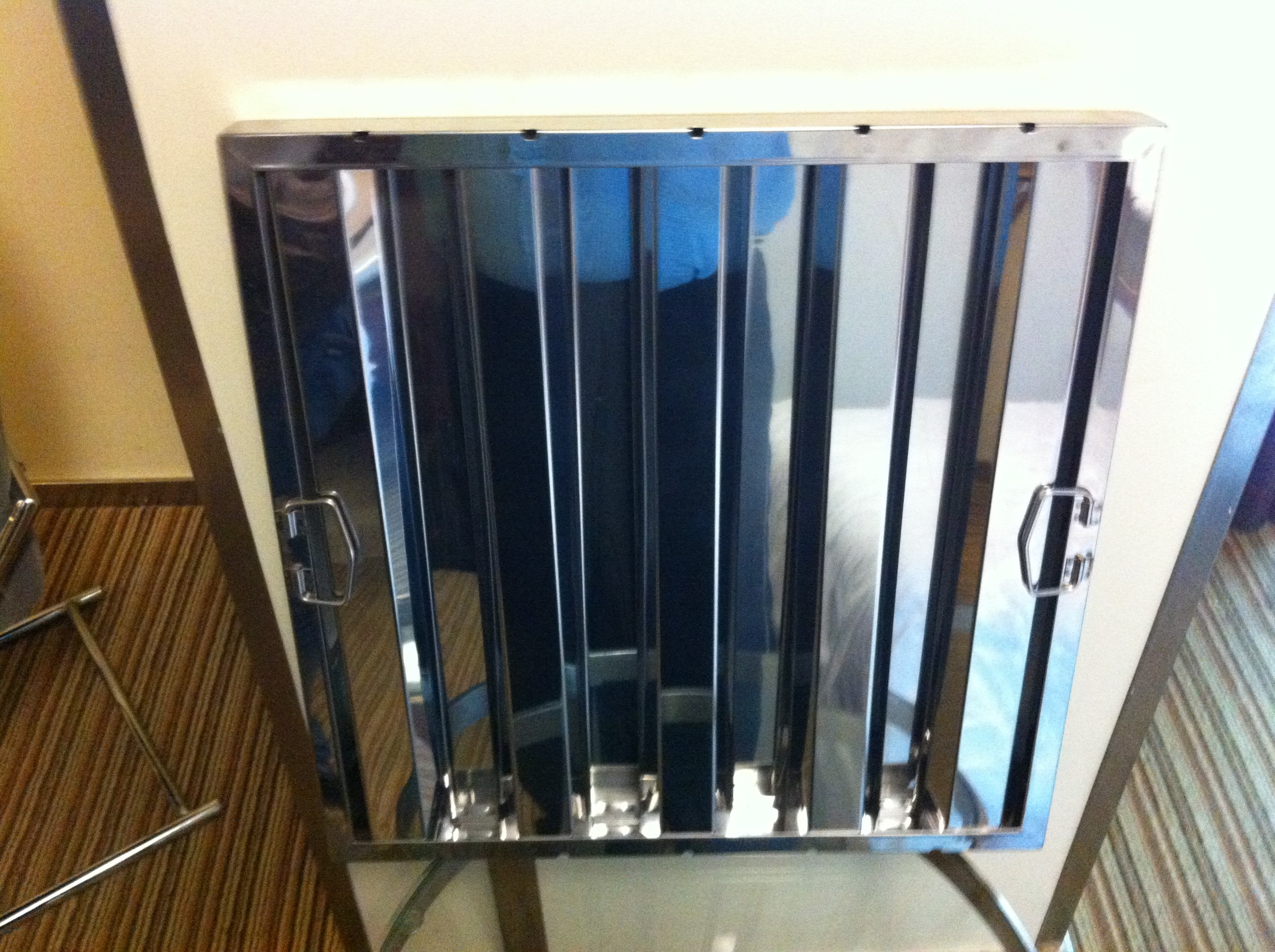 Premium Stainless Steel Baffle Filter