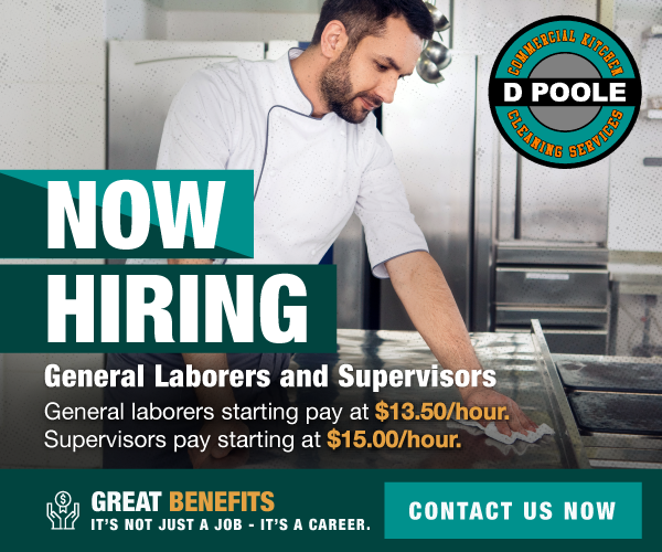 Now Hiring General Laborers and Supervisors