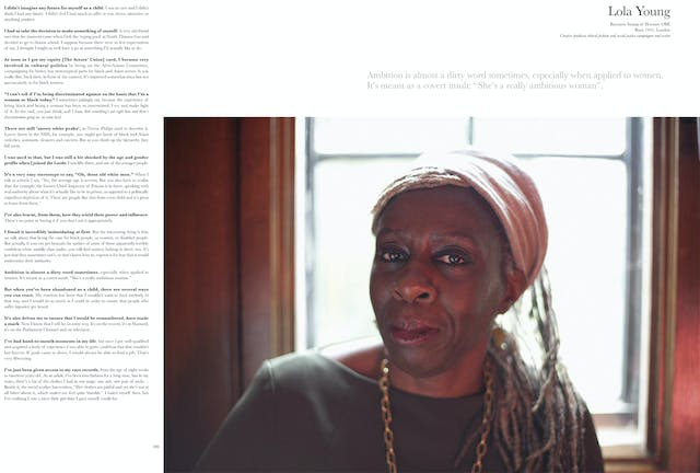 Page 206 - 207: Lola Young