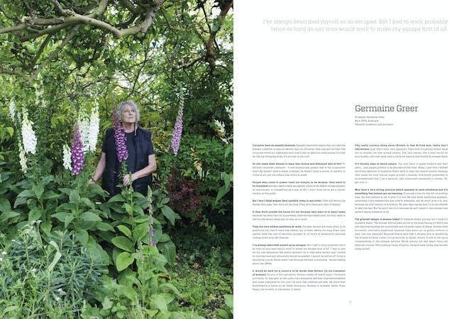 Page 74 - 75: Germaine Greer
