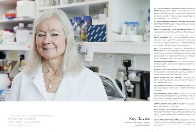 Page 54 - 55: Kay Davies