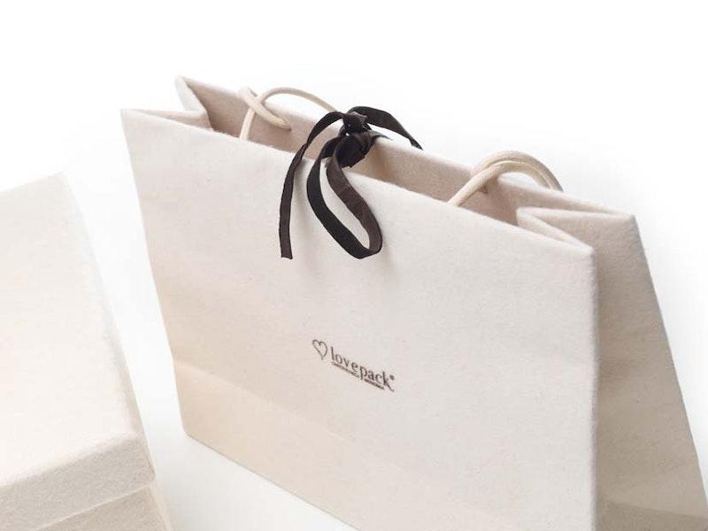 Luxury shopping bag