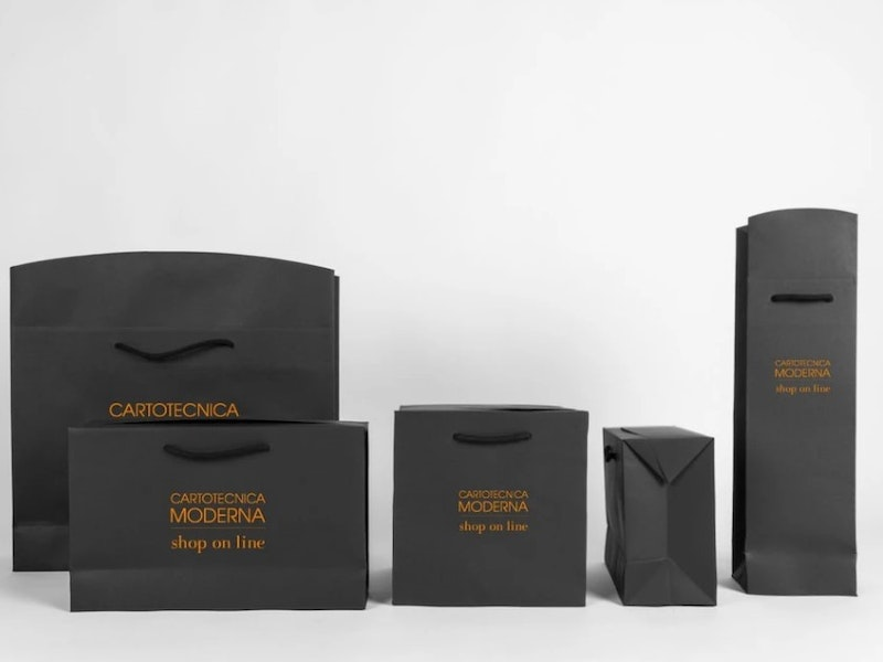 Groupage shopping bags