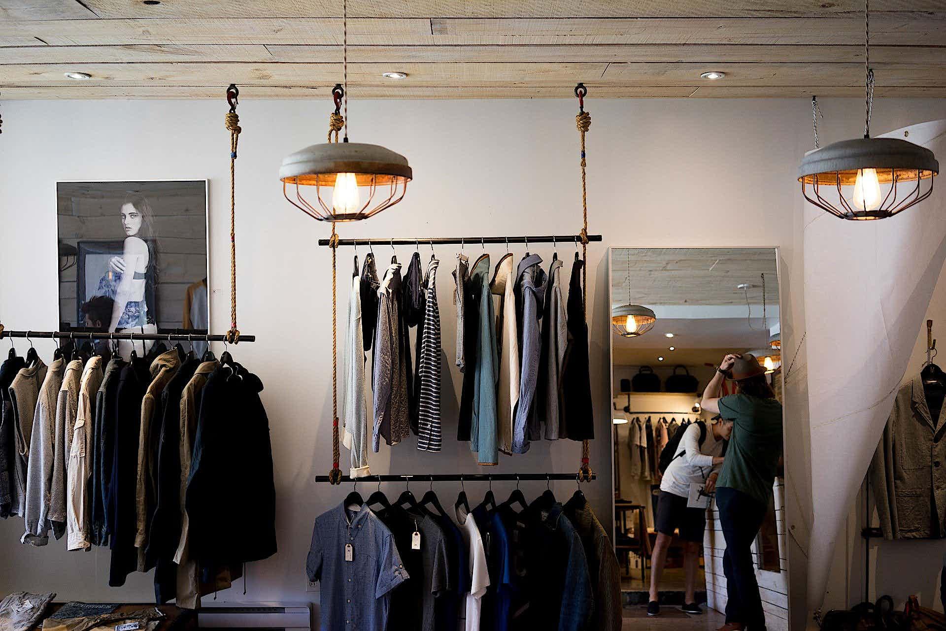 Warenpräsentation im Einzelhandel