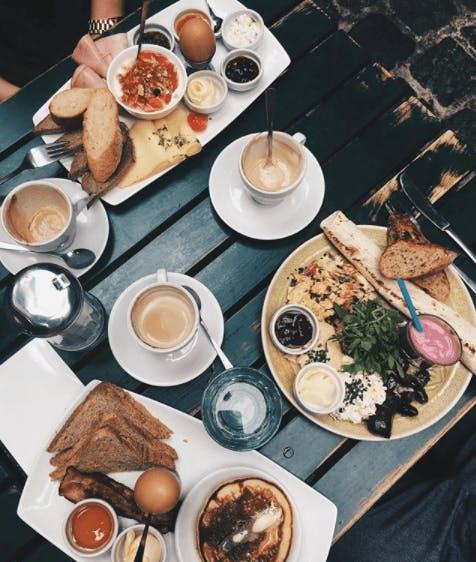 Frühstück bei Amerlingbeisl