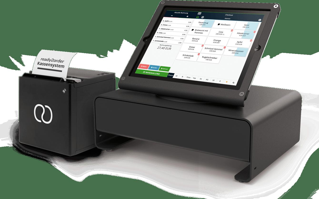 Drucker und Kassensystem