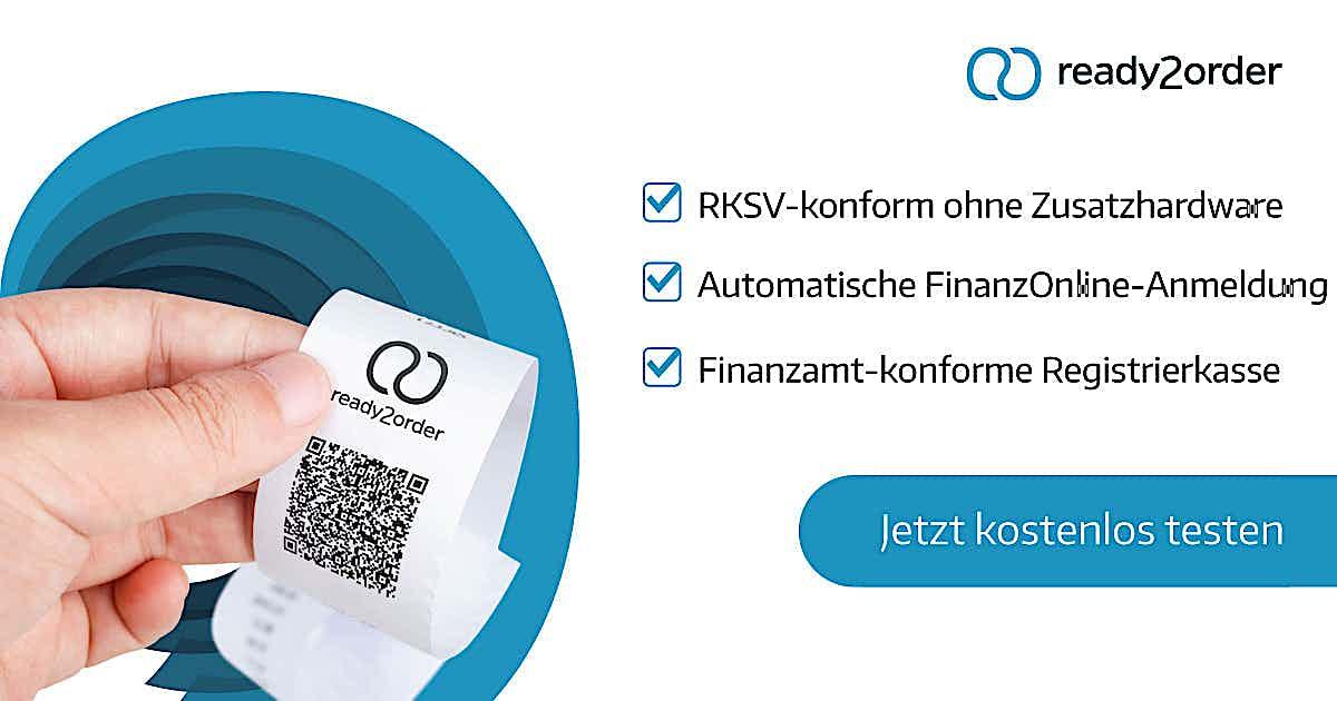 Kassenbon QR-Code finanzamtkonforme Registerkasse ready2order