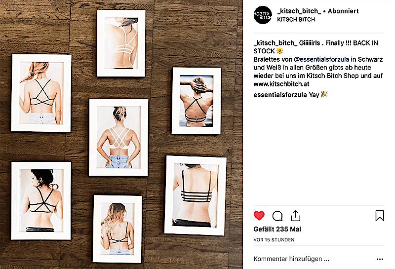 KitschBitsch auf Instagram