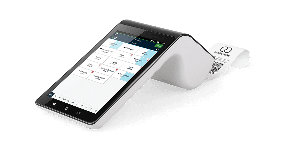 ready2order All-in-One mobile Registrierkasse