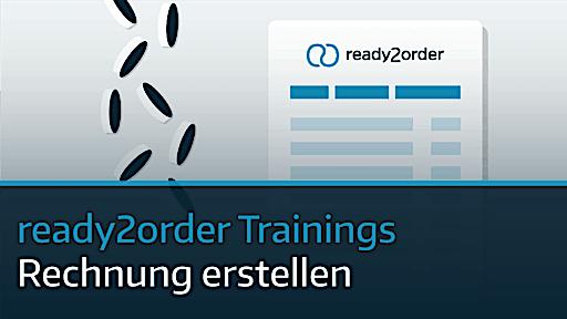 ready2order Video Rechnung erstellen