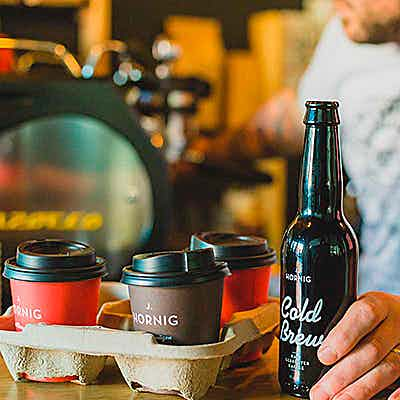 Cold brew drinks and coffee