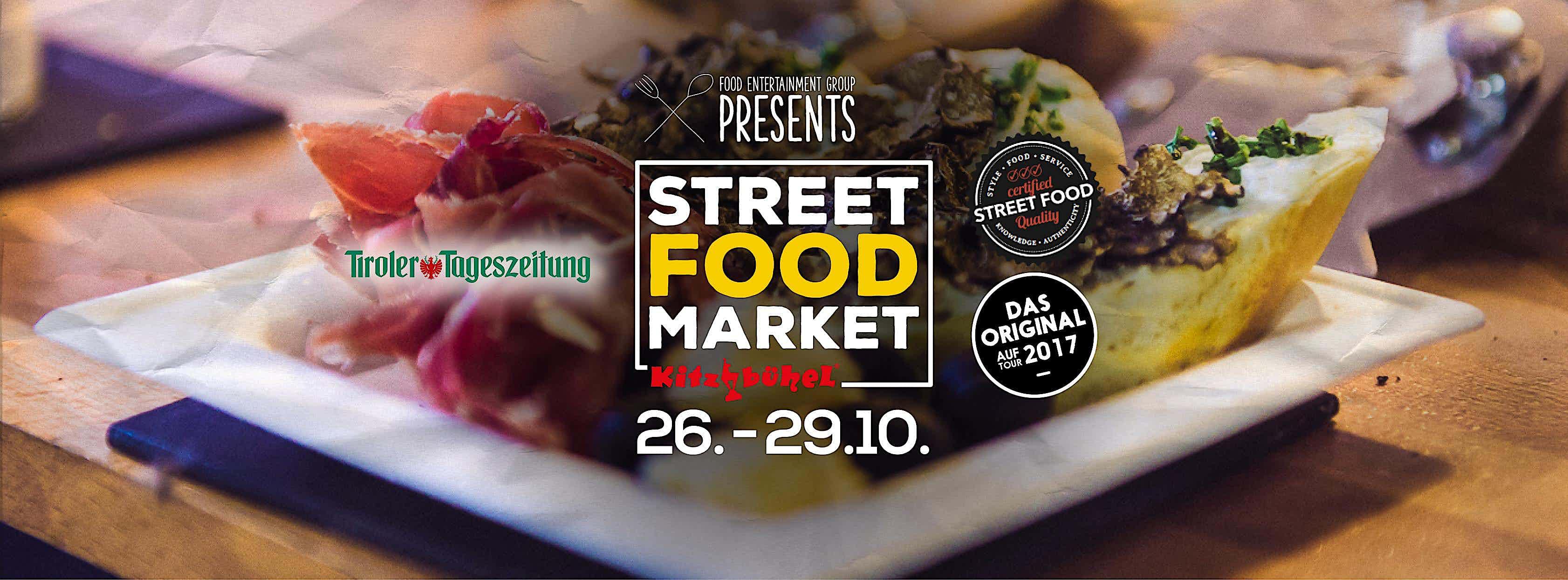 street food market, antipasti