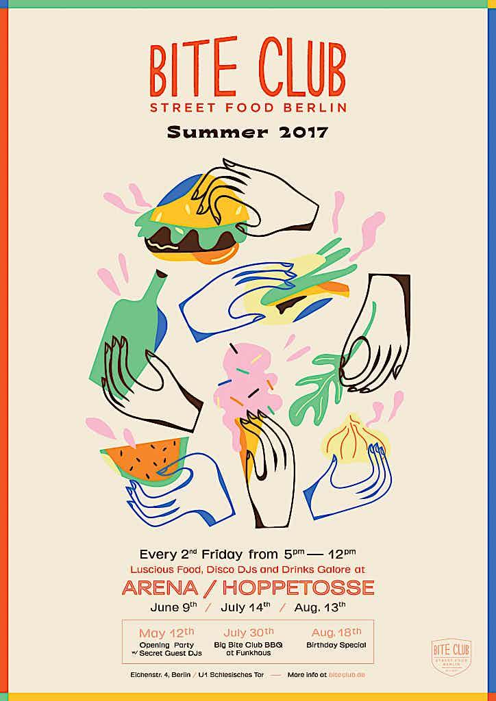 Bite Club sommmer 2017 street food