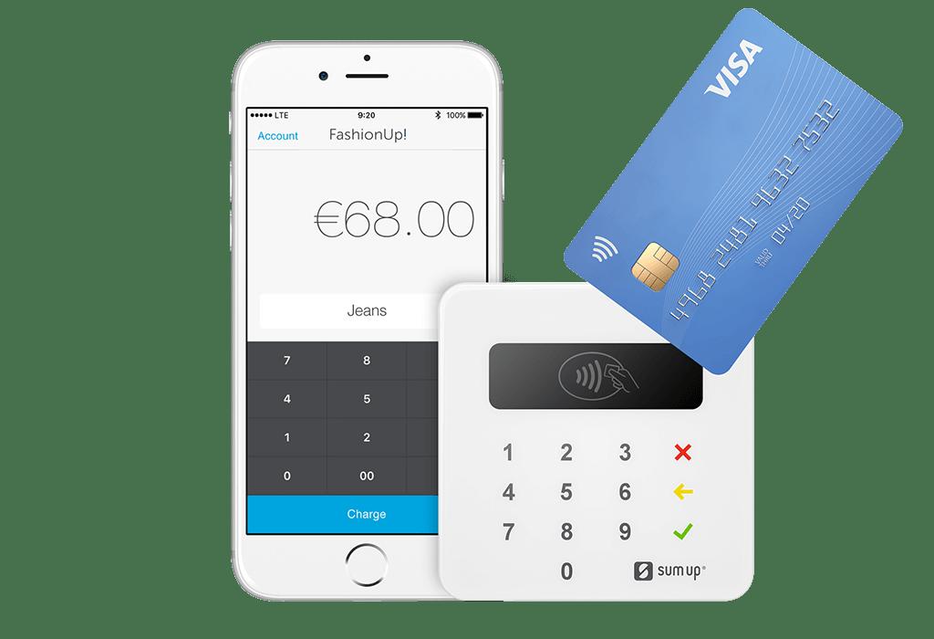 Mobile Kartenzahlung ermöglich durch Erweiterung von SumUp