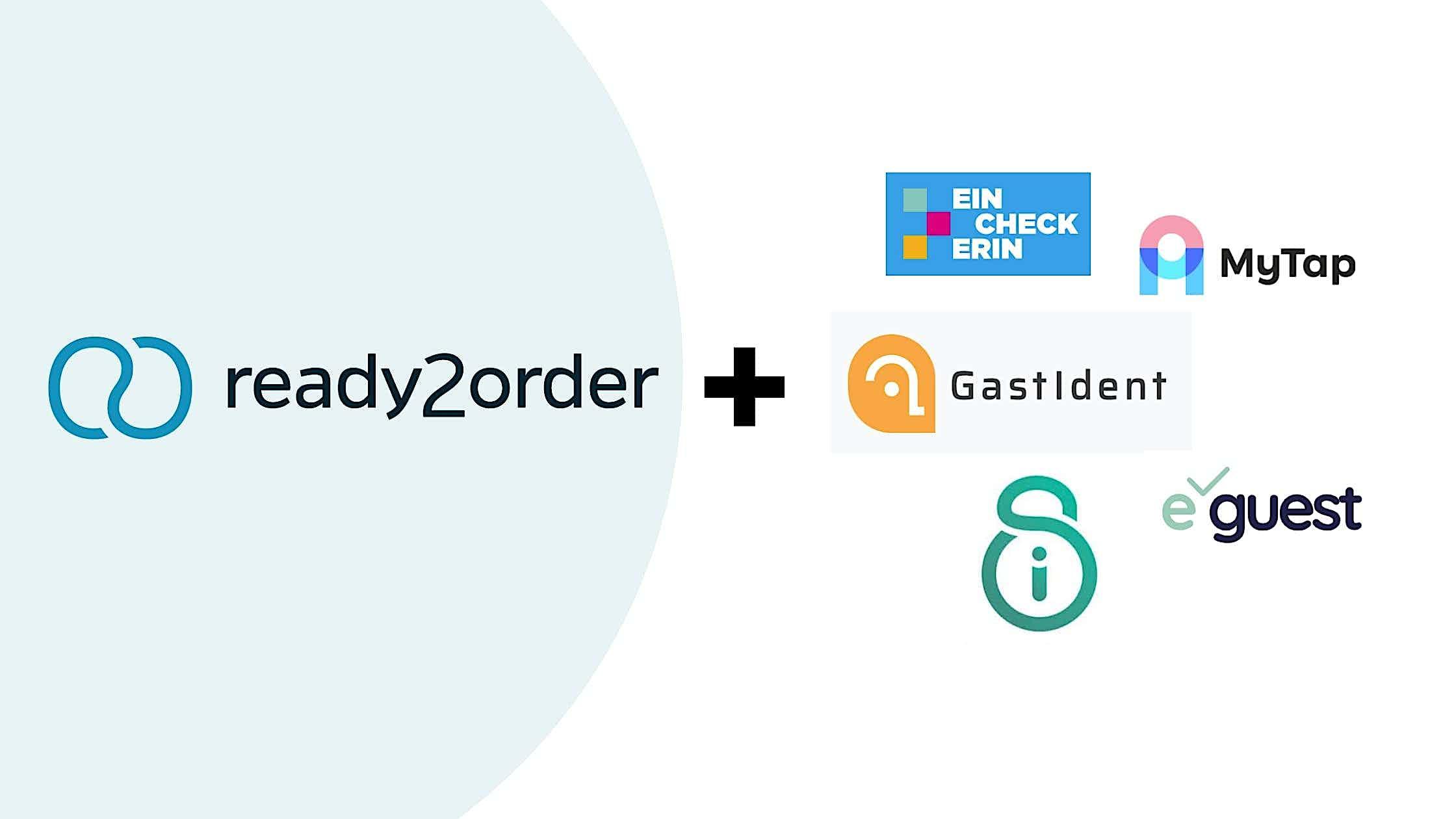 ready2order und andere Kontakt-Apps