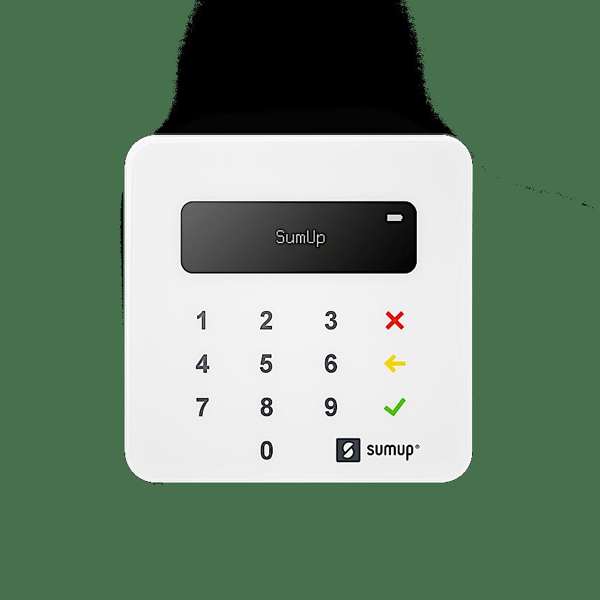 Mobiler Zahlungsterminal von SumUp