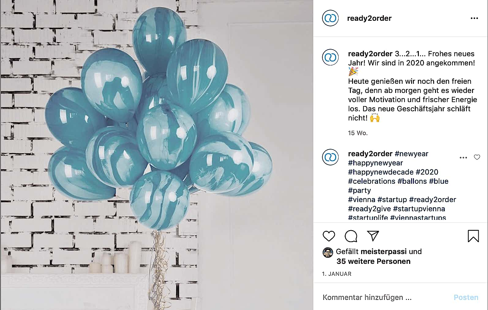instagrampost balloon