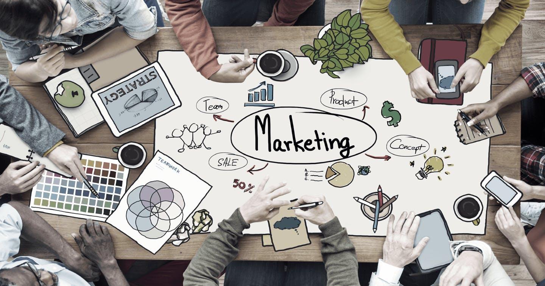 Markting Strategieplanung Bild und Illustration