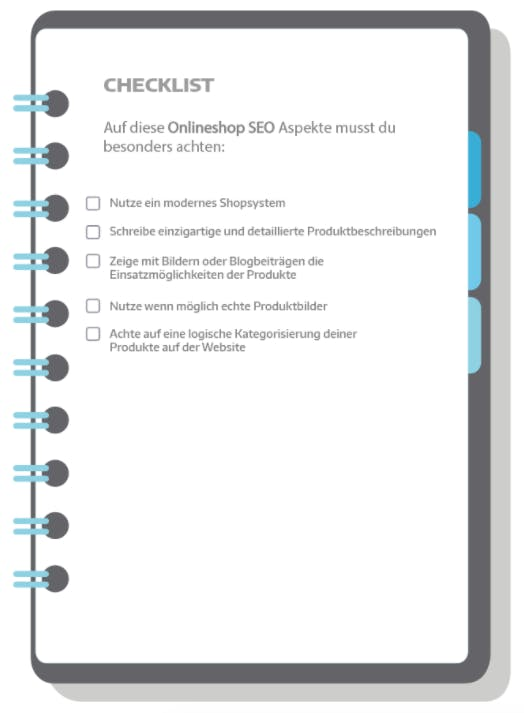 SEO Checkliste Grafik