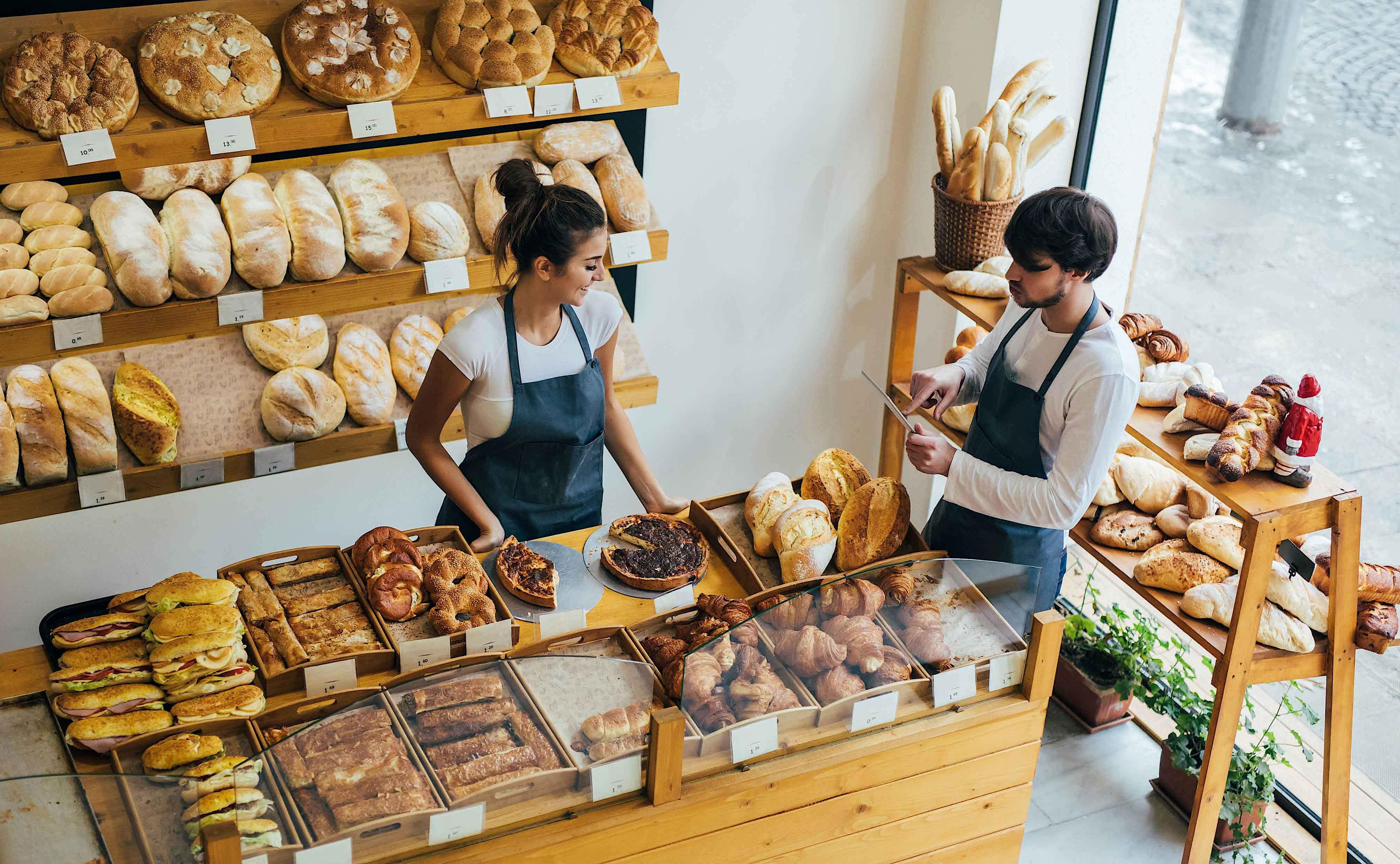 ready2order Nutzung in einer Bäckerei
