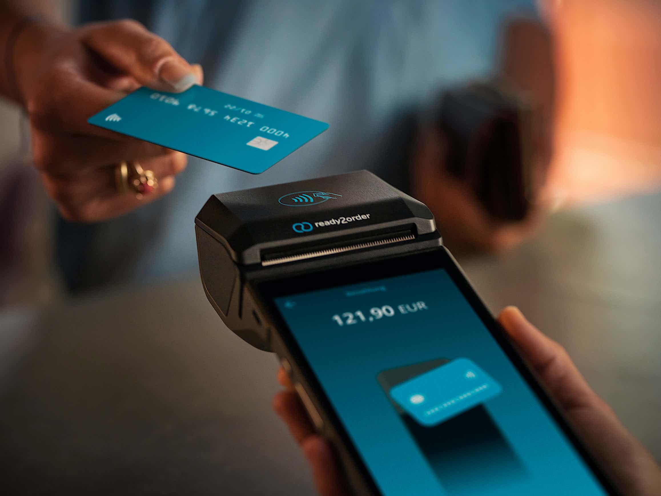 readyP2 Kartenzahlung Vorgang